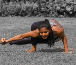 Kebun Raya yoga shoot